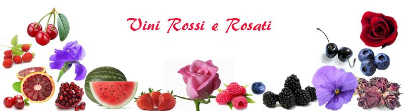 Alcuni profumi dei vini rossi e rosati