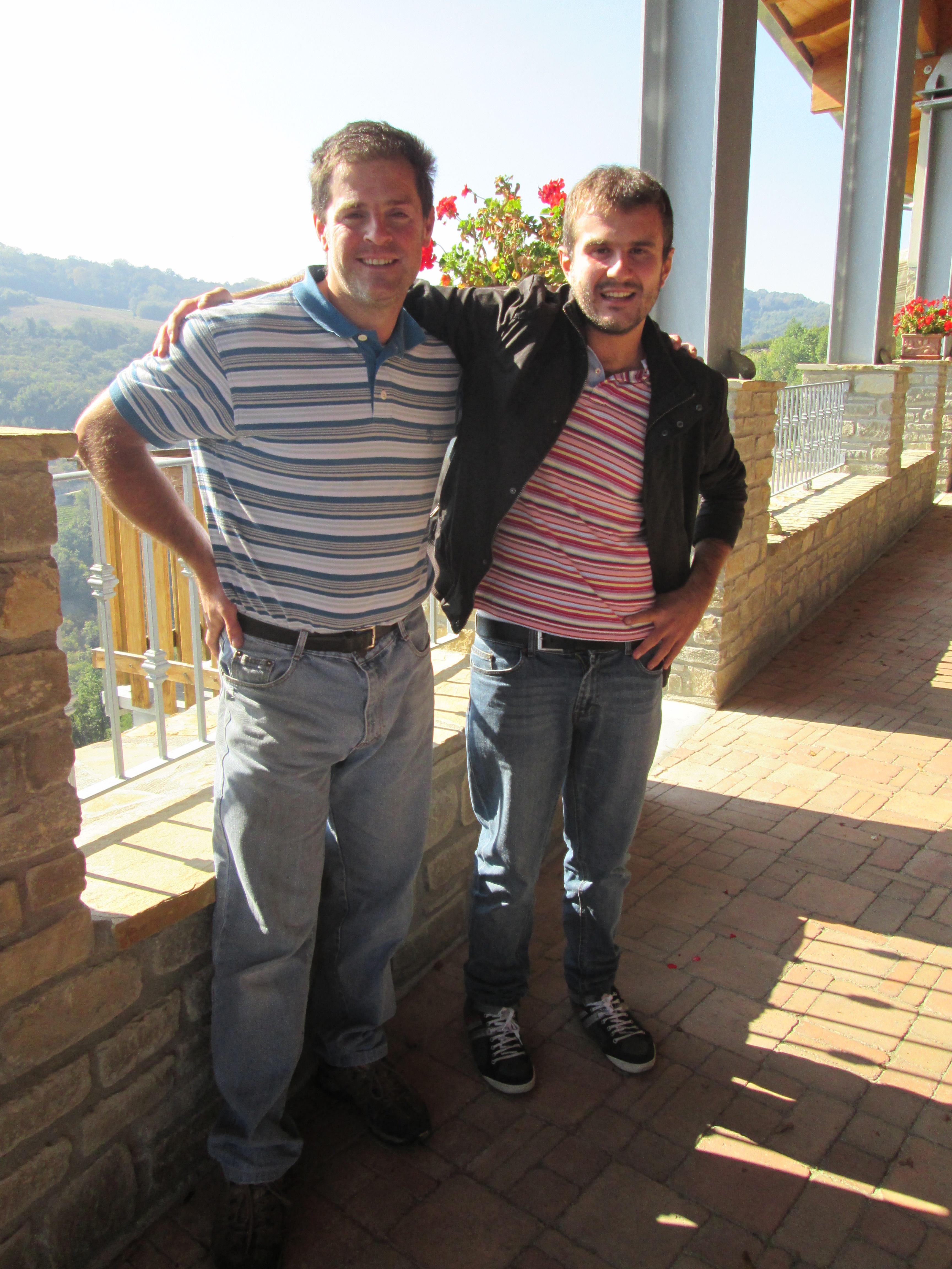 Carlo Galliano & me.
