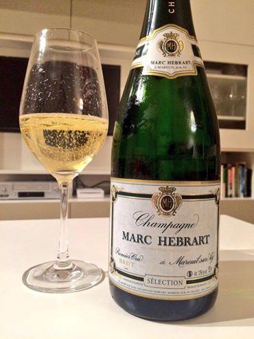 Champagne brut Premier Cru Tradiction Marc Hebrart