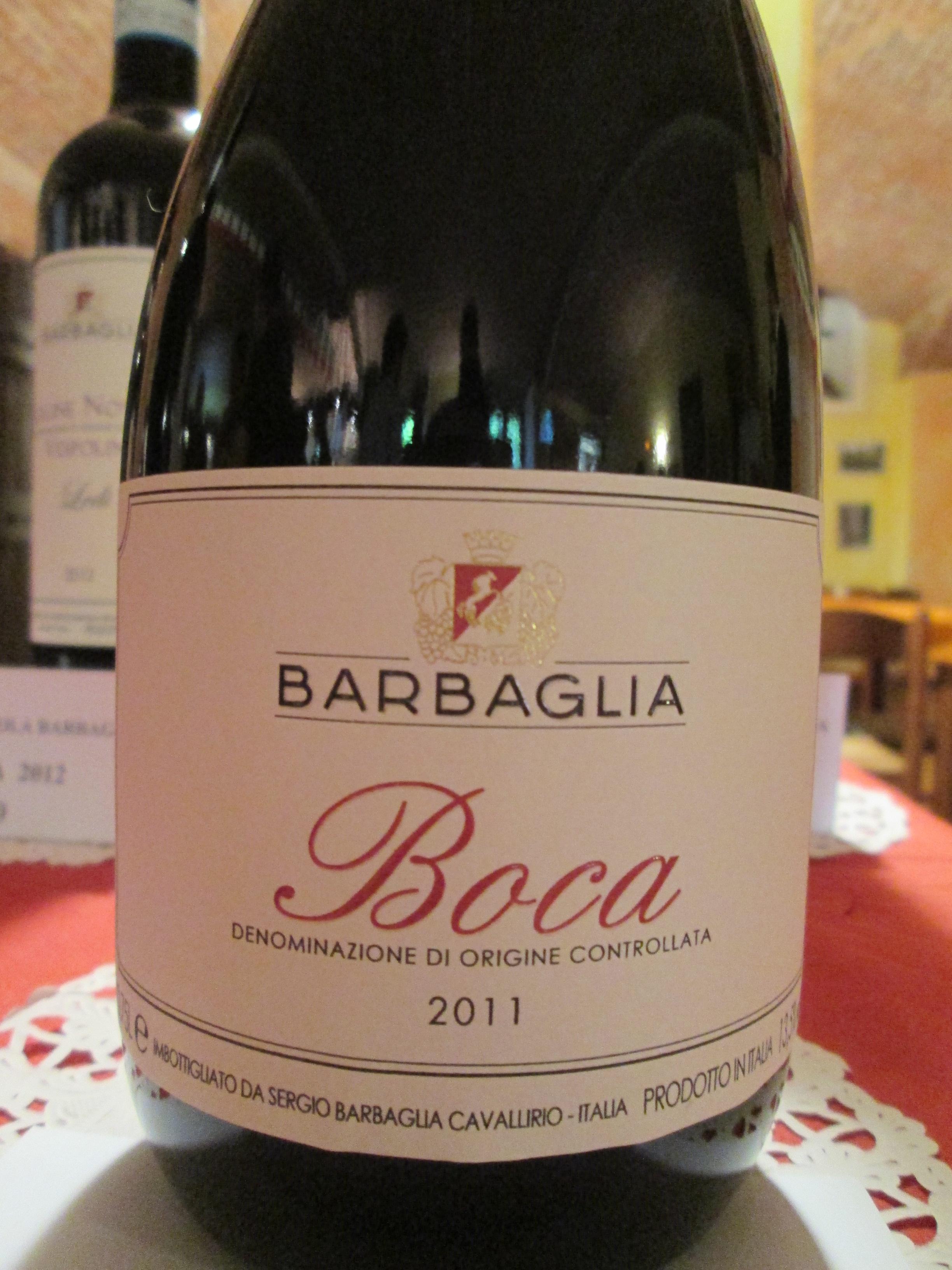Boca 2011 Antico Borgo dei Cavalli di Sergio Barbaglia